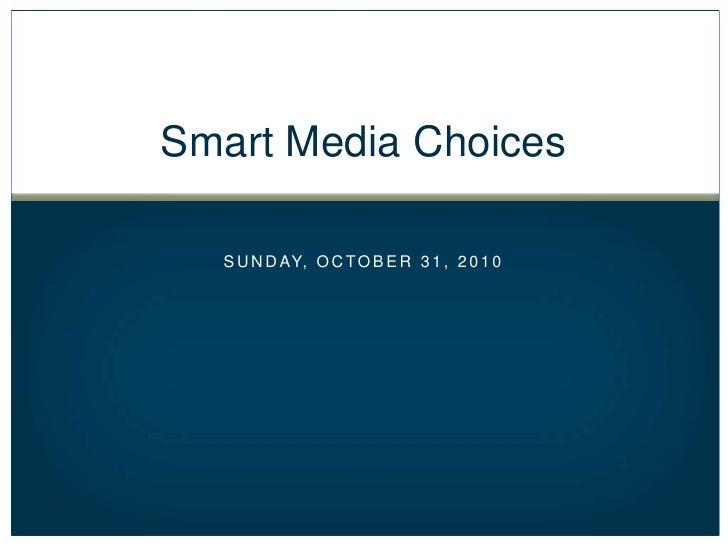 AAHSA Smart Media Choices