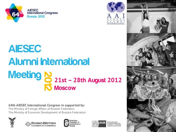 AAIM 2012 presentation for alumni