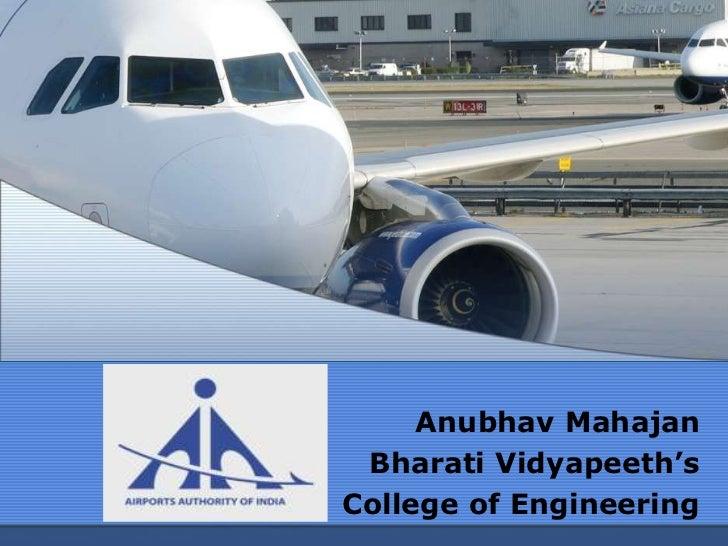 Anubhav Mahajan Bharati Vidyapeeth'sCollege of Engineering