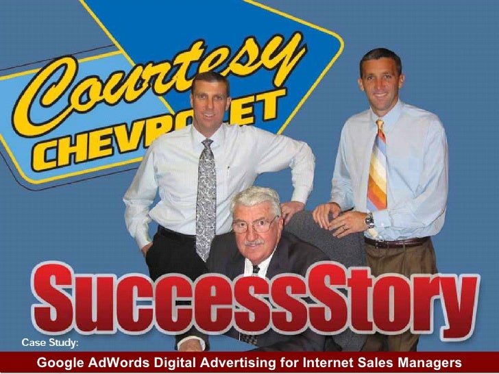 Digital Dealer Conference; Search Advertising for Internet Sales Managers and Automotive Marketing Directors