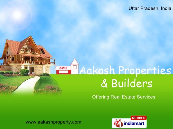 Uttar Pradesh, India  Offering Real Estate Services