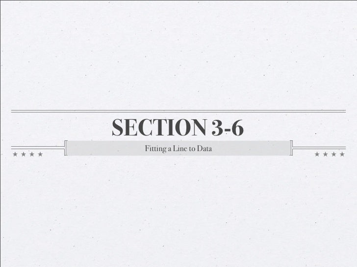 AA Section 3-6