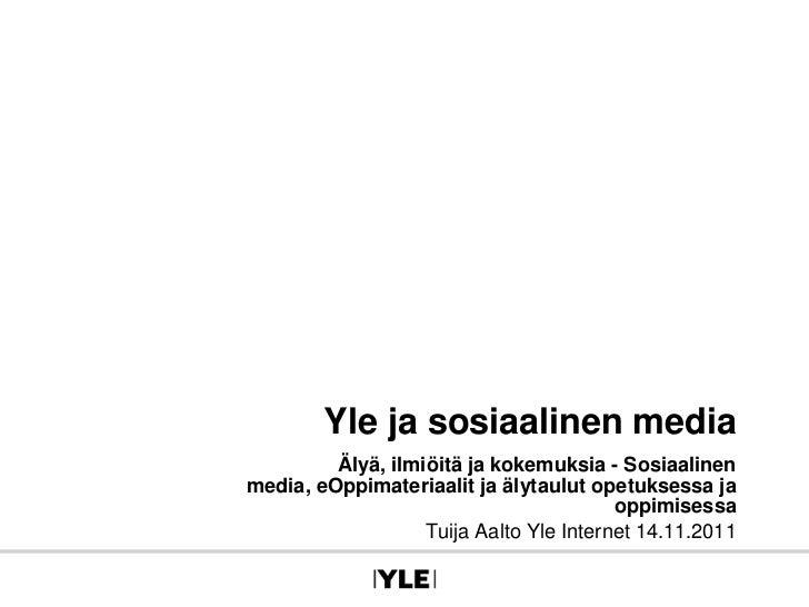 Kuluttajistuminen ja kaksisuuntaisuus julkisen palvelun yleisradiotoiminnassa verkossa