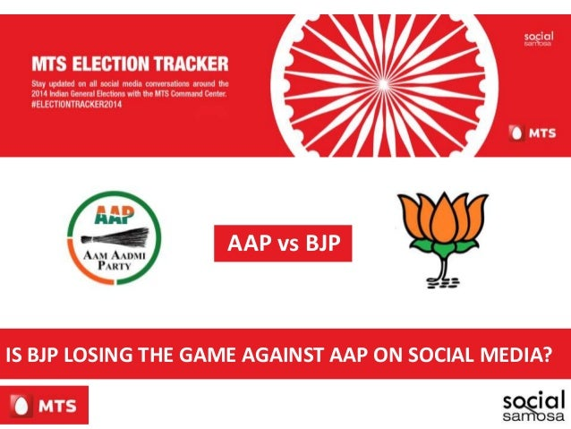 AAP vs BJP IS BJP LOSING THE GAME AGAINST AAP ON SOCIAL MEDIA?