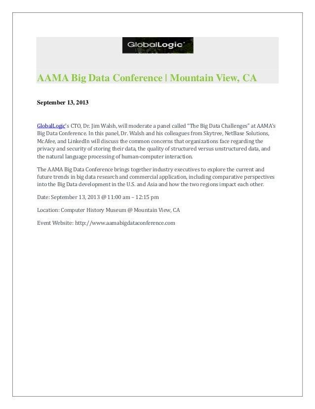 AAMA Big Data Conference