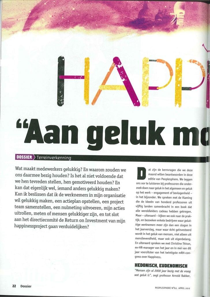 Aan geluk moet je werken 2012