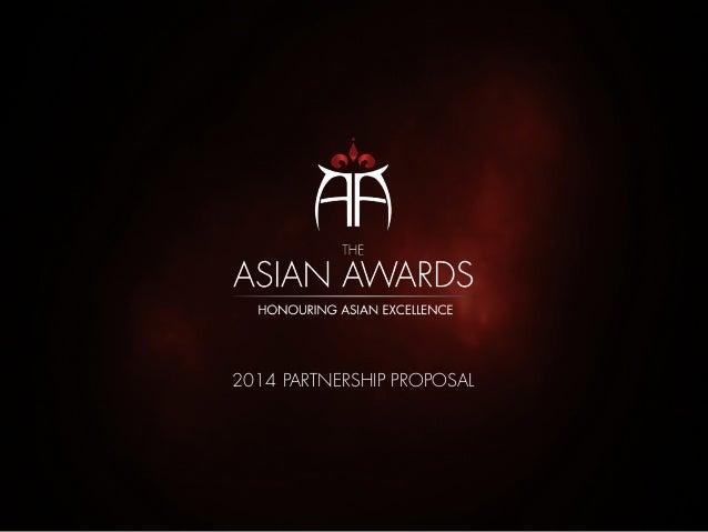 Asian Awards Partnership Proposal