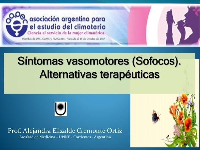 Prof. Alejandra Elizalde Cremonte Ortiz Facultad de Medicina – UNNE - Corrientes - Argentina