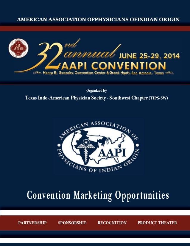 AAPI Convention Marketing Prospectus 2014