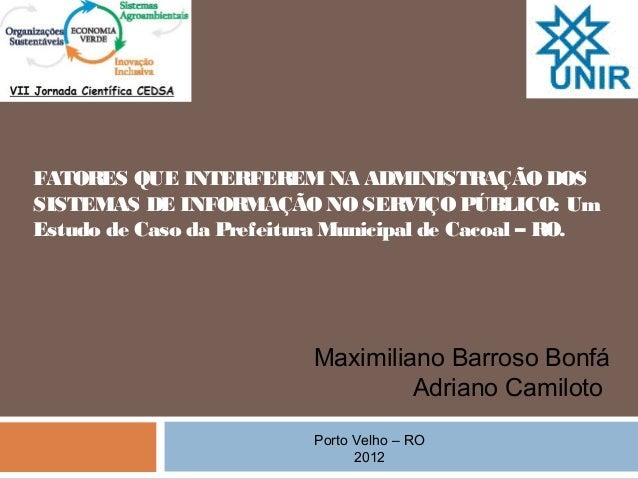 Aapresentação artigo   29.11.2012