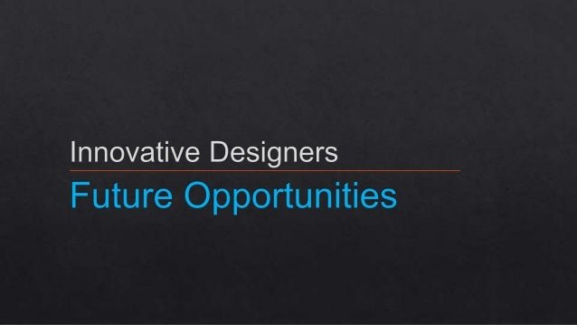 Aar 4 future opportunities