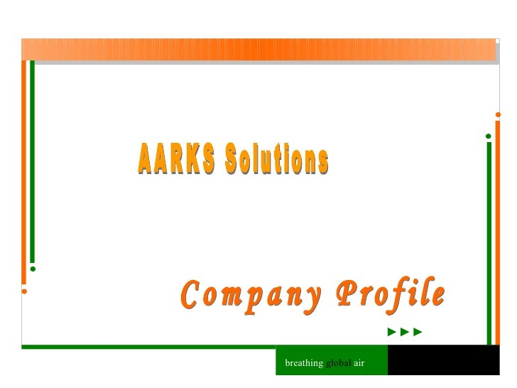 AARKS Solutions Company Profile breathing  global  air
