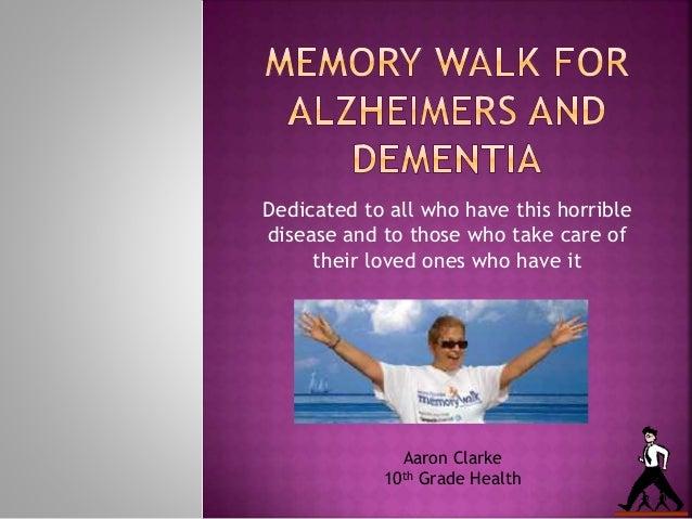 Walk for Alzheimer\'s and Dementia