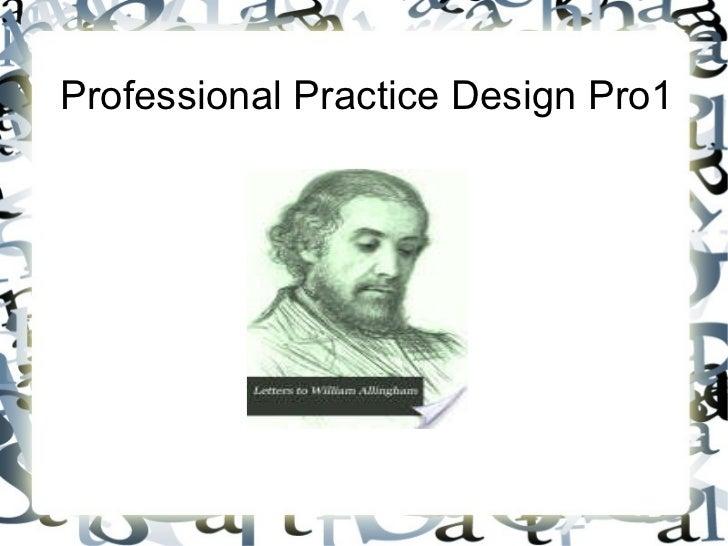Professional Practice Design Pro1