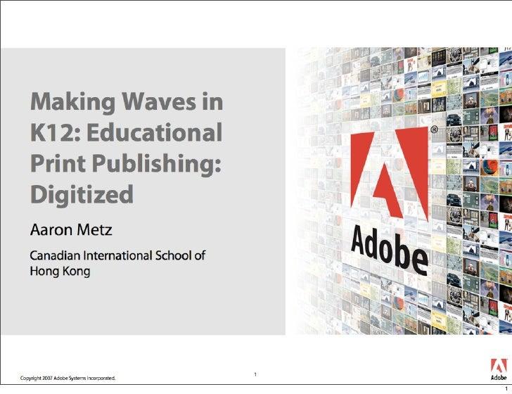 dIGITIZED - Educational Print Publishing