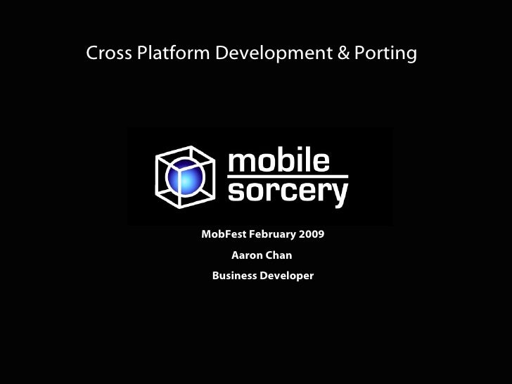 Automated mobile application porting