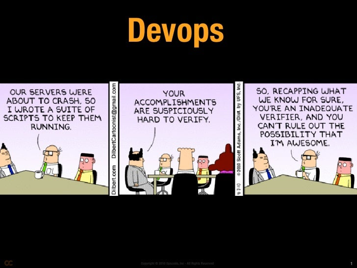 Devops     Copyright © 2010 Opscode, Inc - All Rights Reserved   1