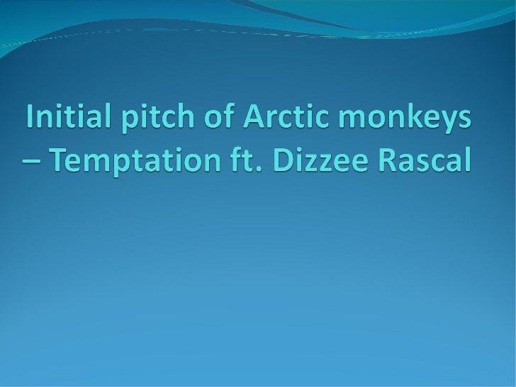 arctic monkeys original pitch