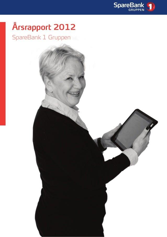 1Årsrapport 2012SpareBank 1 Gruppen