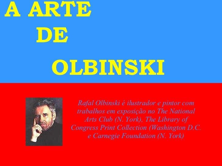 A Arte De Olbinski[1]