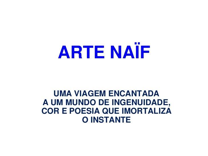 A arte naif