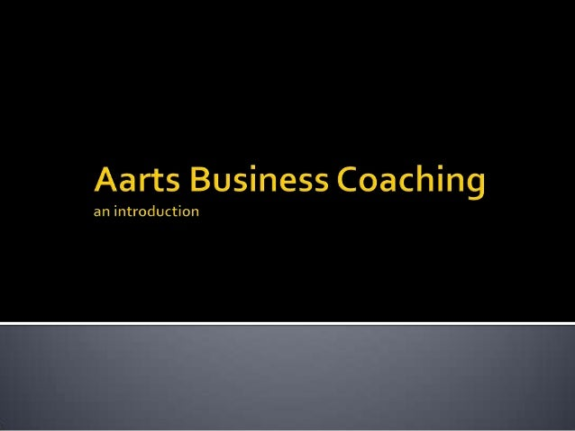 Aarts Business Coaching