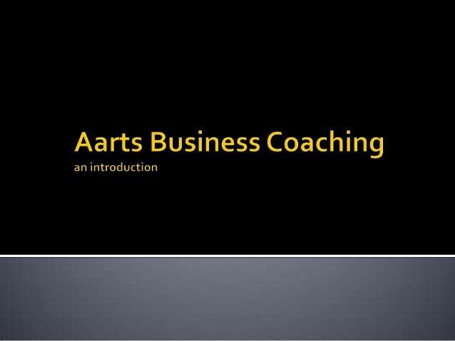 Aarts Business Coaching