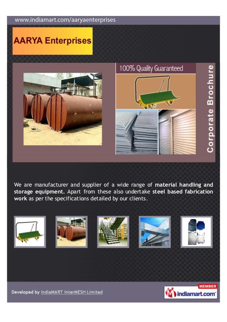 Aarya Enterprises, Pune, Industrial & Engineering Equipments