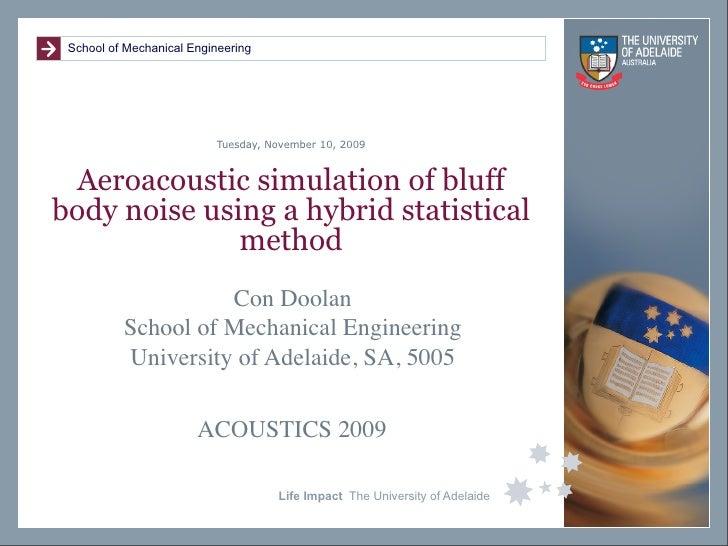 thesis aeroacoustics
