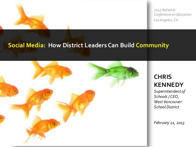 Social Media - How District Leaders Can Build Community