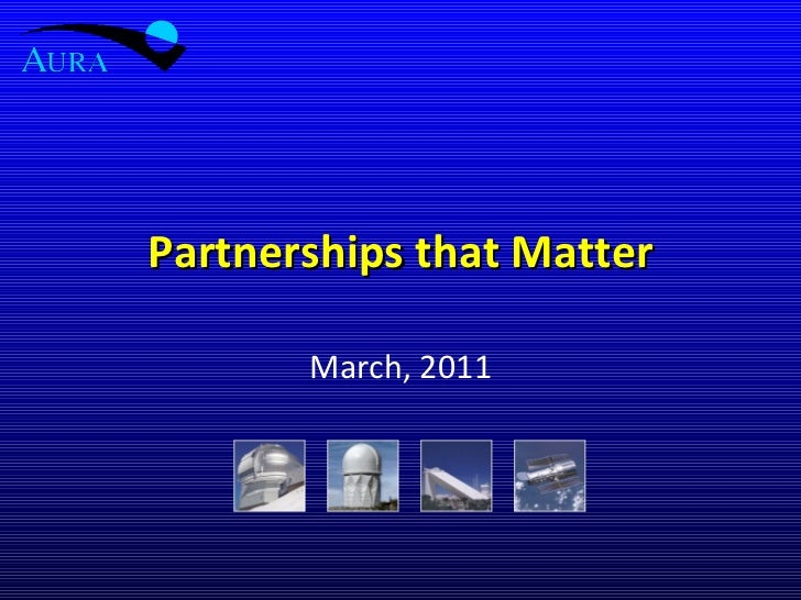 Partnerships that Matter