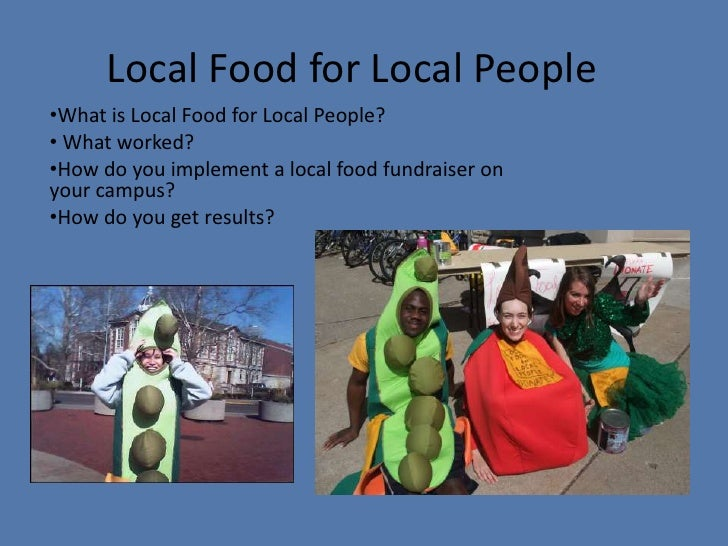 Local Food for Local People