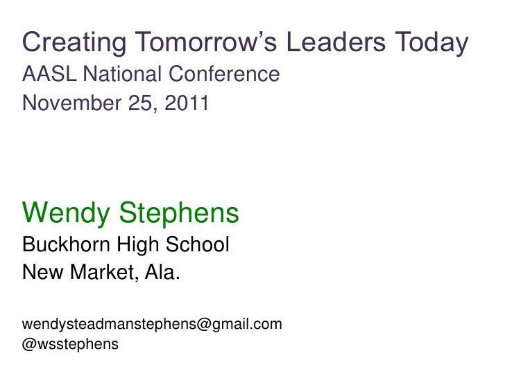 AASL Leadership Talk