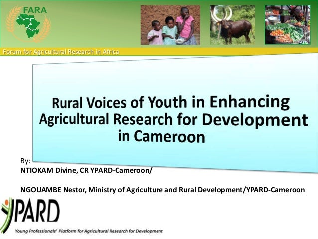 Rural voices of youth in enhancing Agriculture in Cameroon