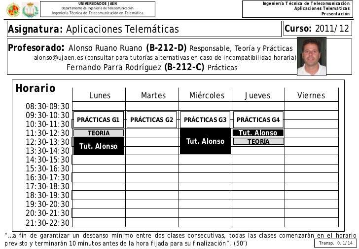 UNIVERSIDAD DE JAÉN                                                   Ingeniería Técnica de Telecomunicación              ...