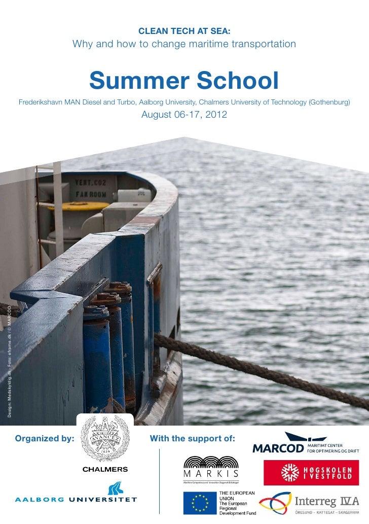 AAU Summer School-Clean tech at sea
