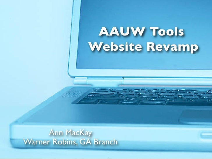 AAUW Tools for Websites