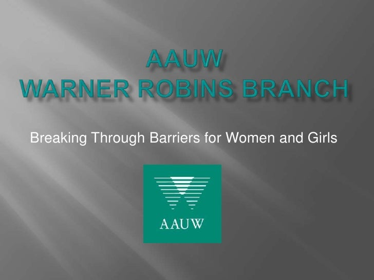 Breaking Through Barriers for Women and Girls