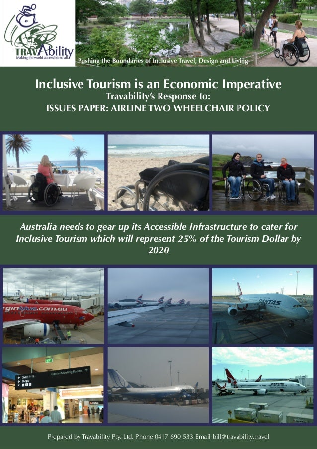 Travability's Response to: ISSUES PAPER: AIRLINE TWO WHEELCHAIR POLICY