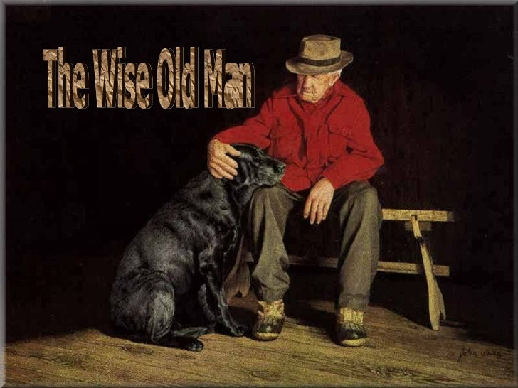 A wise old man