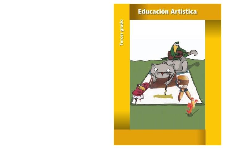 Tercer grado   Educación Artística