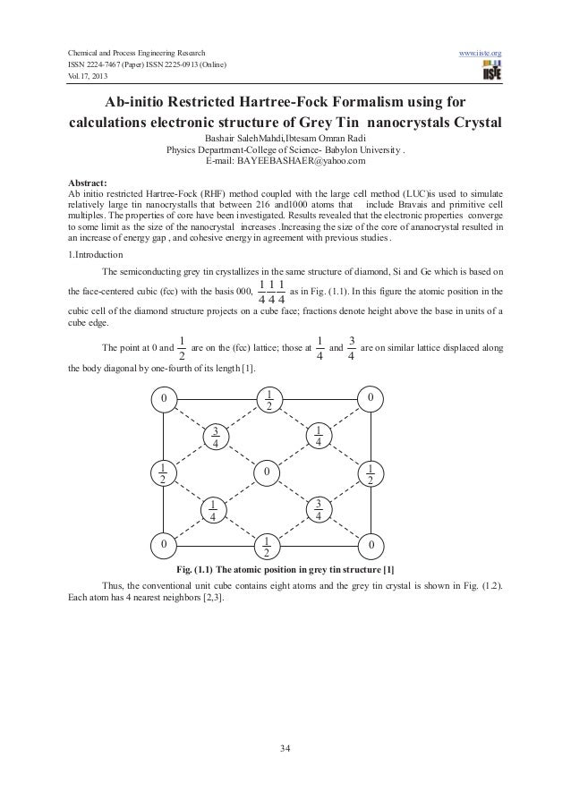 Ab initio restricted hartree-fock formalism using for calculations electronic structure of grey