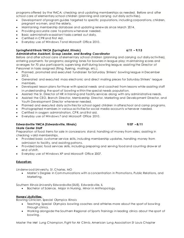 Examples of resume of software qa