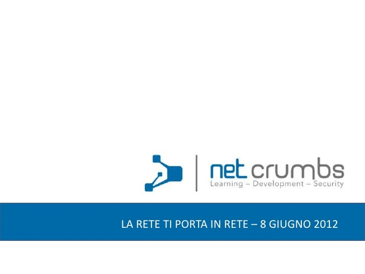 Web Application per PMI