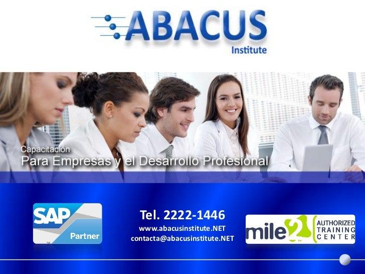Abacus Institute Company Presentation Noviembre 2011