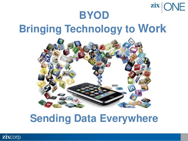 BYOD Bringing Technology to Work Sending Data Everywhere