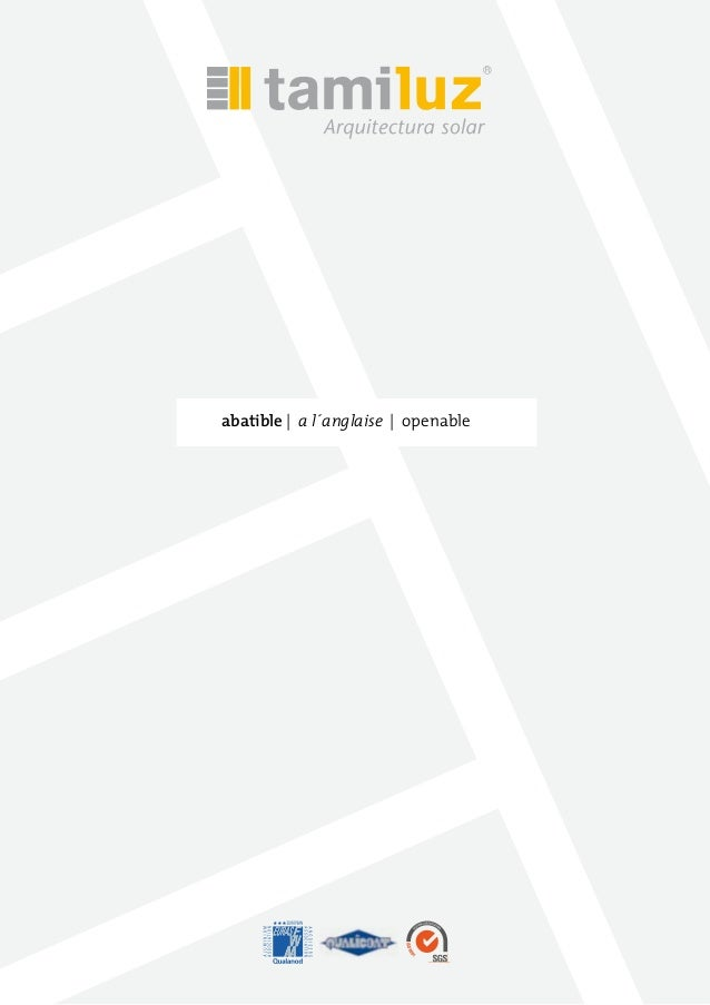 abatible | a l´anglaise | openable