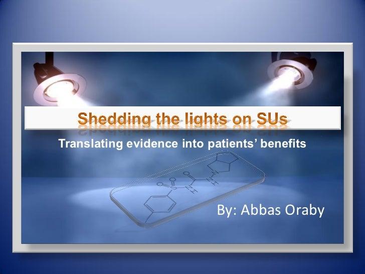 Abbas orabi.translating evidence