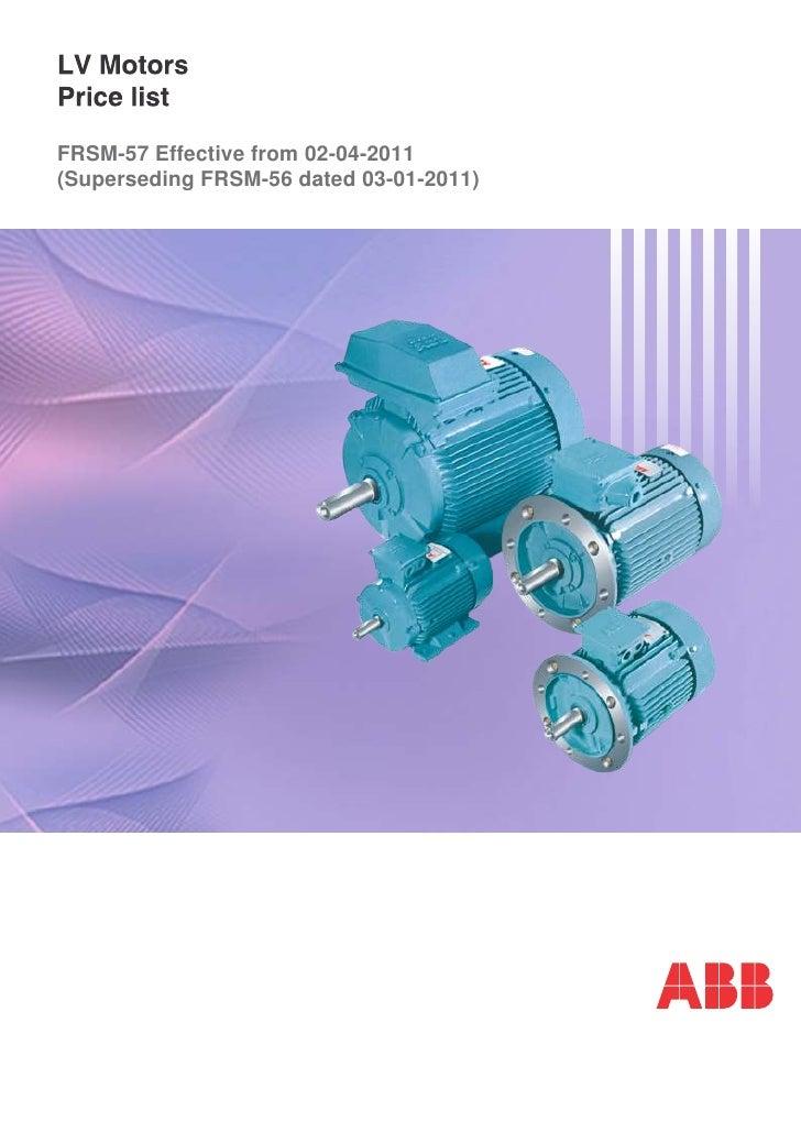 FRSM-57 Effective from 02-04-2011(Superseding FRSM-56 dated 03-01-2011)