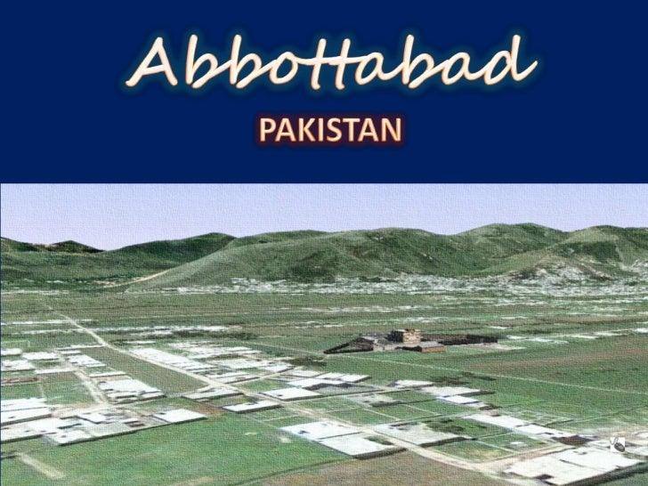 AbbottabadPAKISTAN<br />